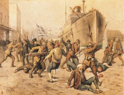 Celal ÖCAL<br>VİTTORİO PİSANİ'NİN TABLOLARINDA YUNAN İŞGALİ<br>1919'un Mayıs ayında İzmir'in işgal edileceğini
